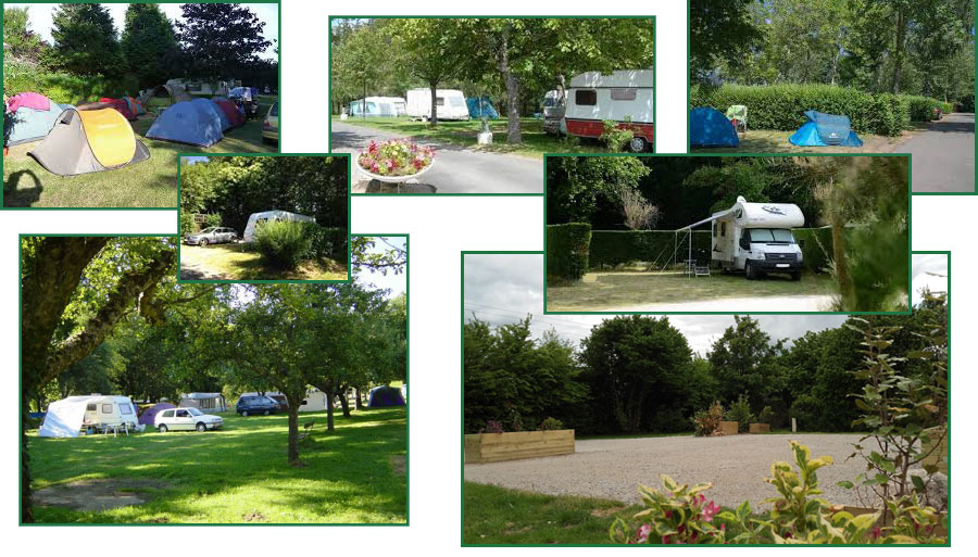 emplacement camping bord de lac creuse